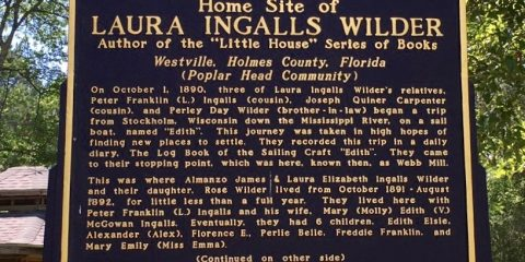 "Almanzo & Laura Ingalls Wilder #2""A Little House Sampler – Innocence"""