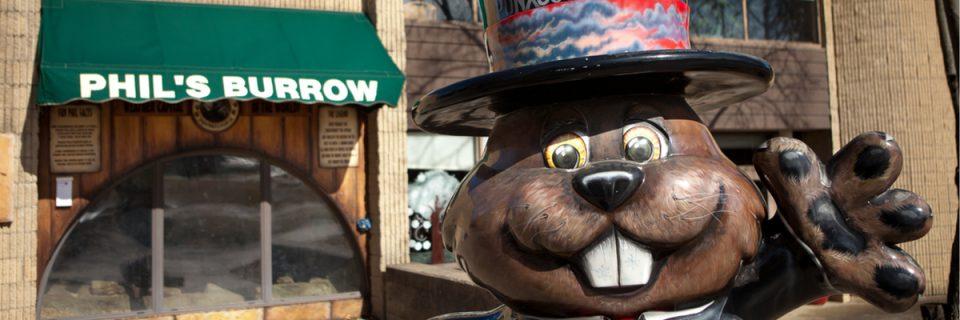 Punxsutawney Phil'sBurrow & Groundhog Club