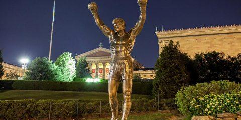 Rocky Statue & Steps